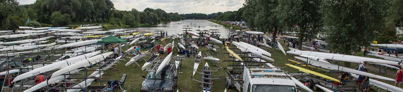 Long view of Pboro Regatta